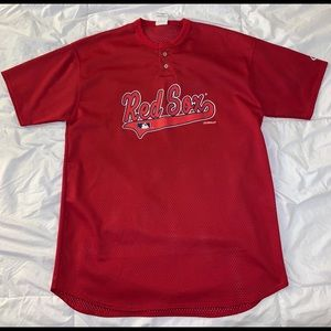 Vintage 90's Boston Red Sox Mesh Jersey